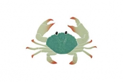 Crab-8in-green