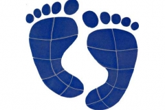 Footprints-10in-blue