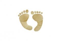 Footprints-6in-tan