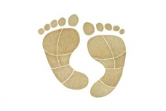 Footprints-8in-tan