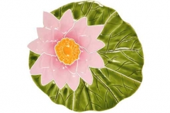 Lily-pad-with-flower