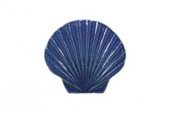 Seashell-5in-blue
