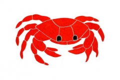 Crab-11in-red